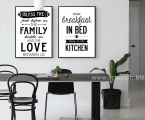 Posters-with-quotations-in-the-kitchen,-size-70x50-cm
