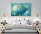Abstract picture fish. Размер 60х100 см. цена 20 у.е.