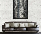 Abstraction, reproduction size 60x100 cm