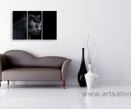 Black panther in the interior. Укажите нужный вам размер по ширине, картины могут быть как модульные так и одинарные. Цена зависит от размеров