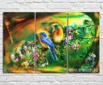 Color birds2. Размер 80х125 см. цена за комплект 35 у.е.
