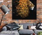 Lion_size 60x60 cm