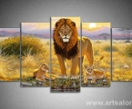 The lion and two kids lion size 80x160 cm. Цена 35 у.е.