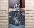 Tiger cat, size 70x45 cm. цена 10 у.е.