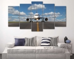 Airplane on the runway, size 80x160 cm. Цена 30 у.е.