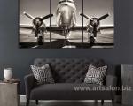 Vintage airplane propeller size 80х150 сm. Цена 30 у.е.