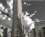 Flatiron-Building-New-York. Flatiron Building New York. В разделе автомобили, большой выбор постеров, черно белый Нью Йорк и желтые такси, такие постеры будут хорошим дополнением совеременного интерьера в доме или офисе