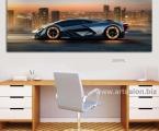 Lamborghini, size 60x180 cm