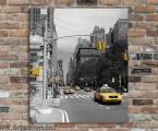 Taxi, New York, size 60x70 cm