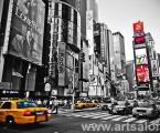 Taxi New York. Размер 60х95 см. цена 20 у.е.