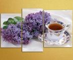 lilac and tea. Размер 80х120 см. цена 30 у.е.