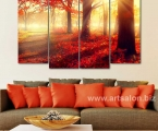 Autumn forest, the size of 100x150 cm 30 у.е.
