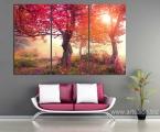 Autumn forest_sun_size_100x160 cm 30 у.е.
