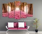 Beautiful forest, size 100x180 cm. цена 35 у.е. (размеры можно сделать меньше) Модульные картины сделаны на панелях МДФ, они легкие, крепкие и безопасные в отличии от картин на стекле (стекло хрупкое, тонкое и тяжелое, картины сильно блестят, дают отражения как в зеркале, картину плохо видно и у них дешевый вид, так же стекло это хрупкий и опасный материал) на стекле делают потому что это дешево и быстро. Картины на орг стекле и акриле тоже имеют свои минусы, они мутнеют со временем и выделяют вредные вещества в теплое время. Даже самая качественная печать со временем выцветает, она становится бледной, а солнечный свет только ускорит этот процесс, поэтому наши картины покрываются защитным лаком, другие производители после печати делают ламинацию (эта пленка делает картину слегка мутной и не защищает от солнечного света) Наши картины и фото всегда яркие, резкие не боятся воды и долгие годы будут радовать вас. Из-за отсутствия блеска матовые картины выглядят более сдержанно и очень солидно. (Вот что пишет дизайнер из компании Apple, я больше предпочитаю матовые картины, глянец и стекло категорически не приемлю, мой выбор обусловлен тем, что глянцевые картины дают сильные блики и на них смотришь как в зеркало, где видно помещение и твое изображение, матовые картины можно смотреть независимо от того как и откуда свет падает на нее)