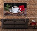 Coffee rose. Размер 80х145 см. цена 35 у.е. (размеры можно сделать меньше, цена зависит от размеров)