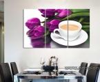 Tulips and coffee. Цена зависит от размеров