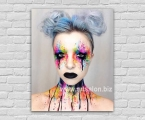 Abstract make-up, size 60x80 cm