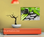Bamboo_water_stones. Фото на планшете под лаком, толщина 2 см. Размер 60х95 см. цена 15 у.е.