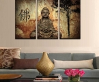 Buddha feng shui in the interior