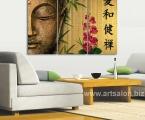 Buddha feng shui, size 80x120 cm. Цена 30 у.е.