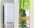 Feng Shui, 3 panels, the size of each part is 60x60 cm. Общий размер 60х180 см цена 40 у.е. (Картину можно украсить мелкими стразами, для блеска капель росы)