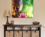 Holy Buddha, size 60x60 cm