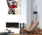Red lips. У наc самые качественные постеры на планшетах под лаком или в рамках хай тек. Размер 60х60 см. цена 10 у.е.