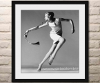 Richard Avedon, size 60x56 cm frame natural wood of any colors