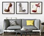 Shoes 60x60 cm