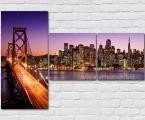 Brooklyn Bridge, dimensions 100x47 cm, 47х47 cm (2 pcs.) цена 30 у.е. (заказ от 2-5 дней)