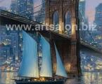 Brooklyn Bridge reproduction 60x100 cm