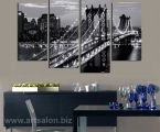 Brooklyn-Bridge,-the-size-of-100x140-cm. цена 30 у.е.
