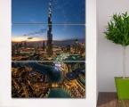 Dubai, Burj Khalifa, the size of 100x150 cm. Цена 40 у.е.