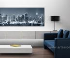 New York, panel, size 60x150 cm