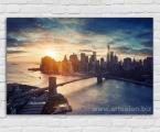 New York, size 60x90 cm