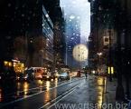 Night Town_ Size 60x70 cm