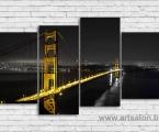 The Golden Gate Bridge, size 80x140 cm. Цена 30 у.е. (заказ от 2-5 дней)