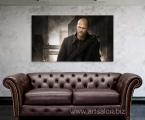 Actor Jason Statham, size 60x100 cm