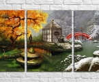 004_Triptych. Размер 80х160 см. цена 40 у.е. Размеры могут быть больше или меньше, по желанию заказчика