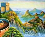 Chinese Wall 1. Картины могут быть одинарные или модульные, цена зависит от размеров