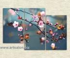 Spring Sakura. Размер 98х145 см. (картину можно украсить мелким стразами, для блеска капель росы) цена 40 у.е.
