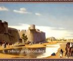 Egyptian art. Картина в багете, размер 70х110 см цена 50 у.е.