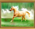 Horse 02 Картины могут быть оформлены в разный багет, цена зависит от размера
