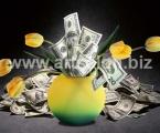 Bunch of money. Размер 70х46 см цена 10 у.е. цветы и купюры можно украсить мелкими стразами