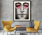 John Lennon, size 60x80 cm
