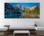 Mountain Lake2. Фотопанно из 6 модулей. Размер картины 80х190 см. цена 60 у.е.