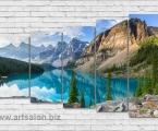 Mountain landscape, size 100х155 cm. Цена 35 у.е.