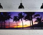 Palm panorama. Постер можно оформить в раму или без, в виде планшета (как мебельная плита, только легкая) Размер 70х180 см. цена 40 у.е.