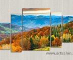 The mountains. autumn. Размер 100х160 см. цена 40 у.е.