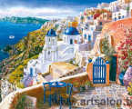 Greece sea view